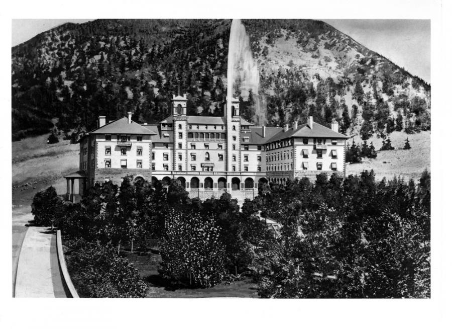 Hotel Colorado In Glenwood Springs Where Abdu L Baha Had His Only Day