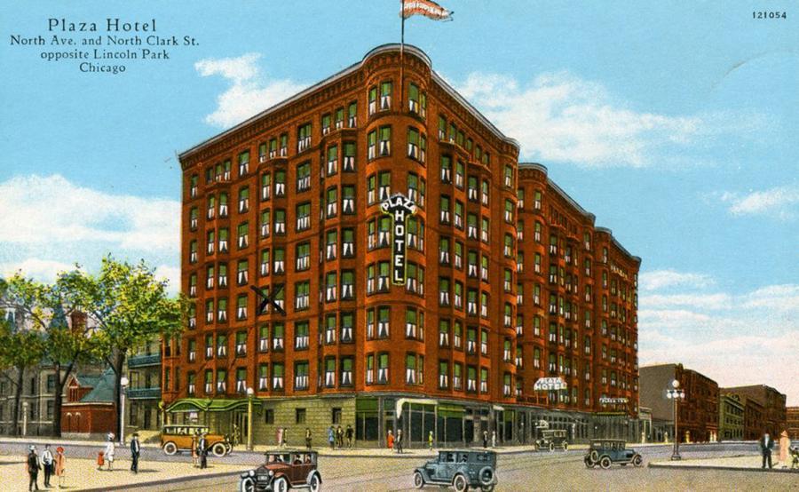 Plaza Hotel North Avenue Clark Street Opposite Lincoln Park In Chicago