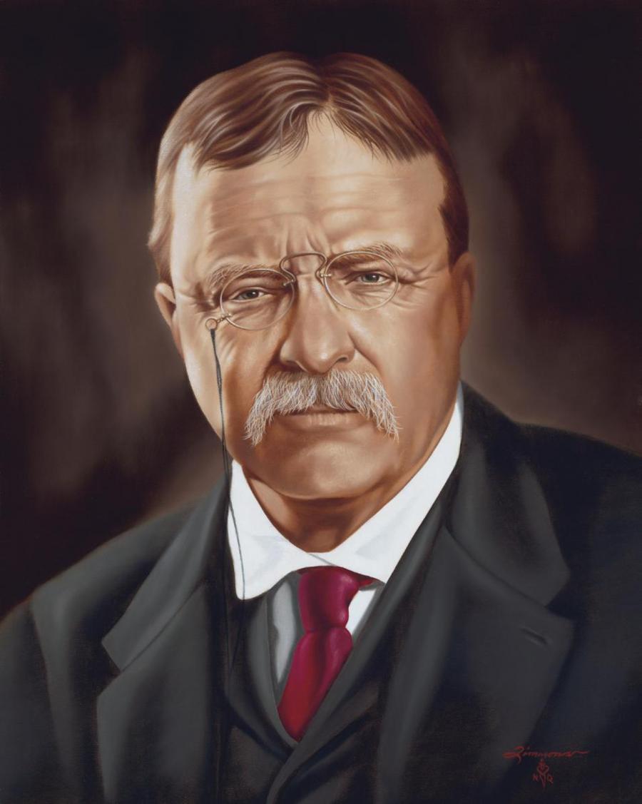 Ex-President Theodore Roosevelt Praises the Teachings of ' ...