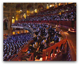 Chicago Theater Filled