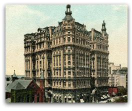 Hotel Ansonia at Broadway & 73rd St. NY, NY