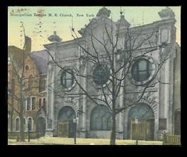 Metropolitan Temple New York City