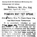 Persian May Yet Speak