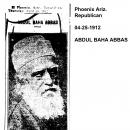 Abdul Baha Abbas