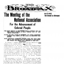 The Meeting of the National Association For the Advancement of Colored People
