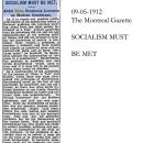 Socialism Must Be Met