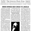 Abbas Brings New Creed to Lincoln