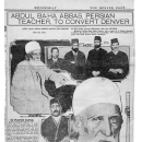 Abdul-Baha Abbas, Persian Teacher, to Convert Denver