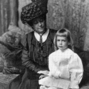 Agnes Parsons With Her Son Jeffrey