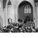 'Abdu'l-Baha Speaking at Plymouth Congregational Church in Chicago on 5 May 1912
