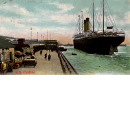 R. M. S. Cedric of the White Star Line - Ship that Carried 'Abdu'l-Baha to America in 1912