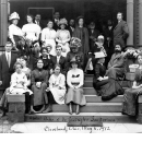'Abdu'l-Baha and Baha'is at Dr. Swingle's Sanitorium in Cleveland, Ohio May 6, 1912