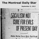 Socialism Not Cure For Evils of Present Day